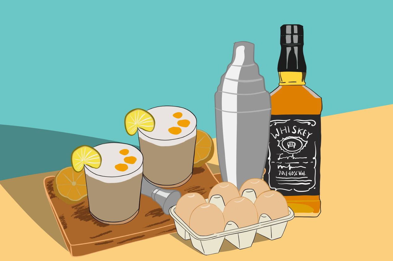 Photo for: Make an egg-cellent cocktail