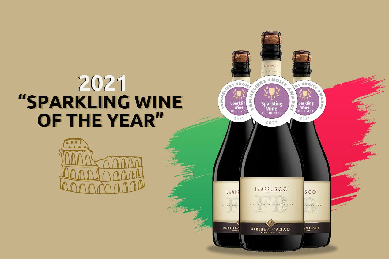 Photo for: FB Metodo Ancestrale Sparkles at the Sommelier Choice Awards