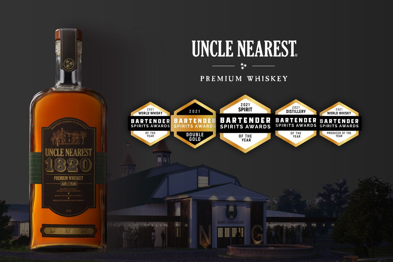 Photo for: 2021's Best Whiskey - Uncle Nearest's 1820 Single Barrel