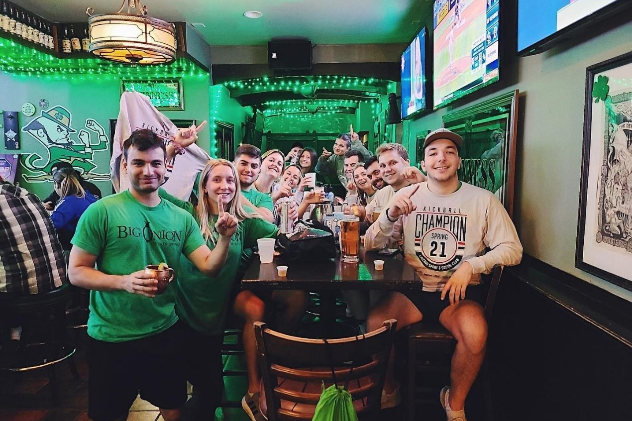 Photo for: Wrigleyville Sports Bars You'll Never have a Walk-off from