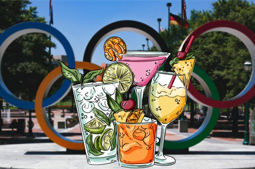 Photo for: Let the cocktail games begin: Olympic style drinks